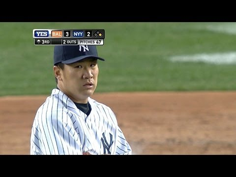 BAL@NYY: Tanaka fans 10 in first Yankee Stadium start