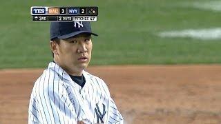 BAL@NYY: Tanaka fans 10 in first Yankee Stadium start