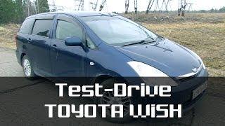 Toyota Wish: Тест-драйв от Highway