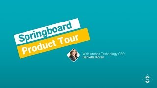 Springboard product tour