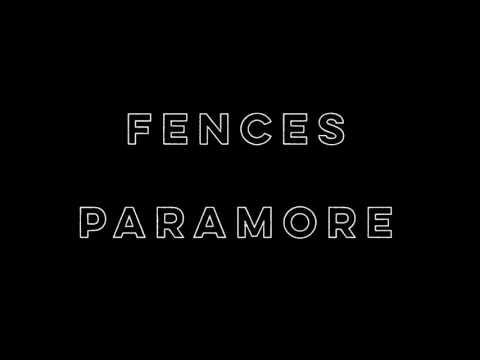Fences - Paramore (Lyrics)