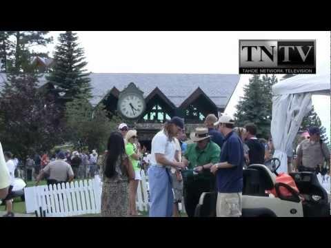 Celebrity Golf At Edgewood Tahoe: Charles Barkley, Michael Jordan, And More...