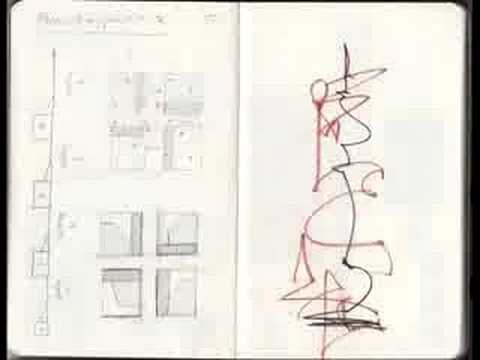 Tale of What! - notebooks, scores and drawings.