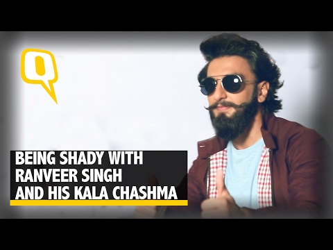 The Quint: Being Shady With Ranveer Singh and His Kala Chashma