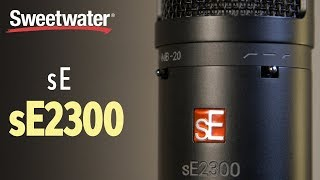 sE Electronics sE2300 Large-diaphragm Condenser Mic Review
