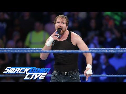 Dean Ambrose calls out Baron Corbin: SmackDown LIVE: Feb. 28, 2017