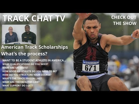 HOW TO GET A US TRACK SCHOLARSHIP