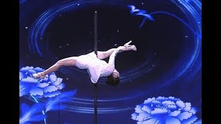 73-year-old pole-dancing granny| CCTV English