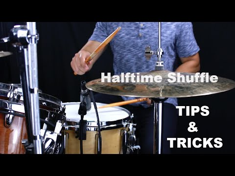 Tips & Tricks For Better Halftime Shuffles- Drum Lesson With Eric Fisher