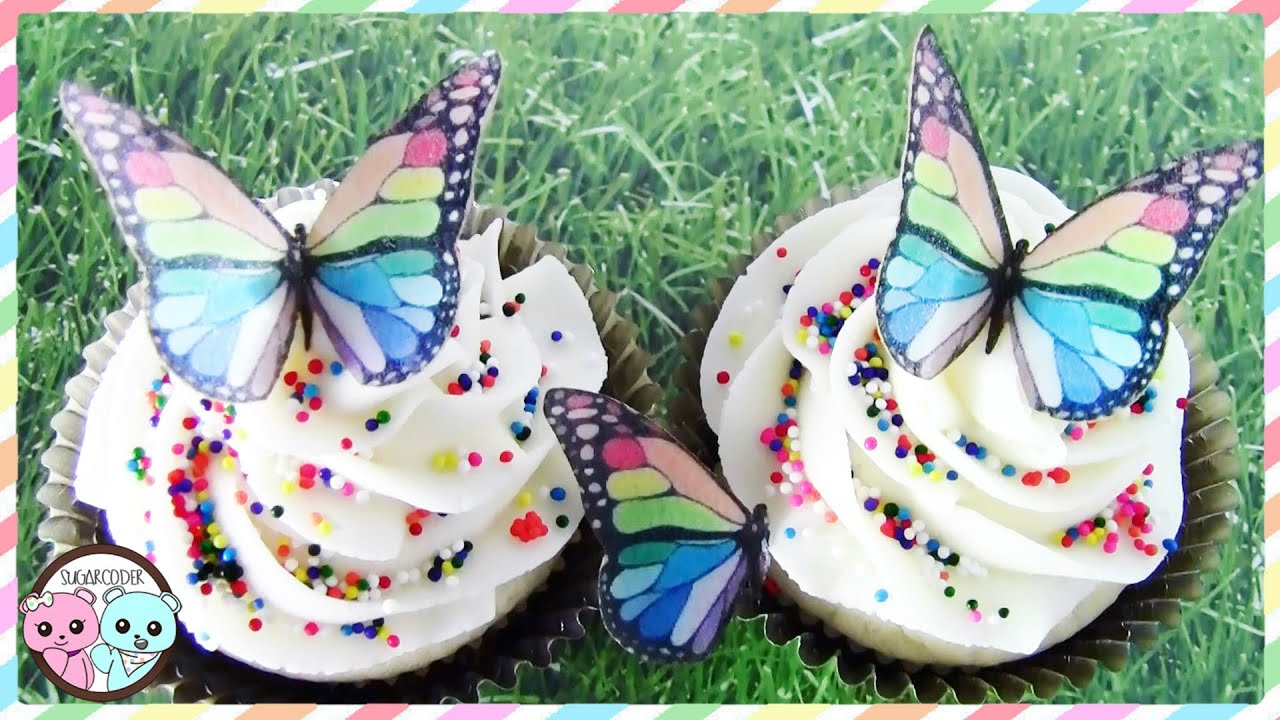 How To Make Butterfly Cakes