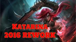 [LoL:PBE-6.22] Katarina Rework Preview