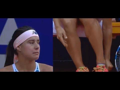 Sorana Cirstea vs Yulia Putintseva - Medical timeout denied