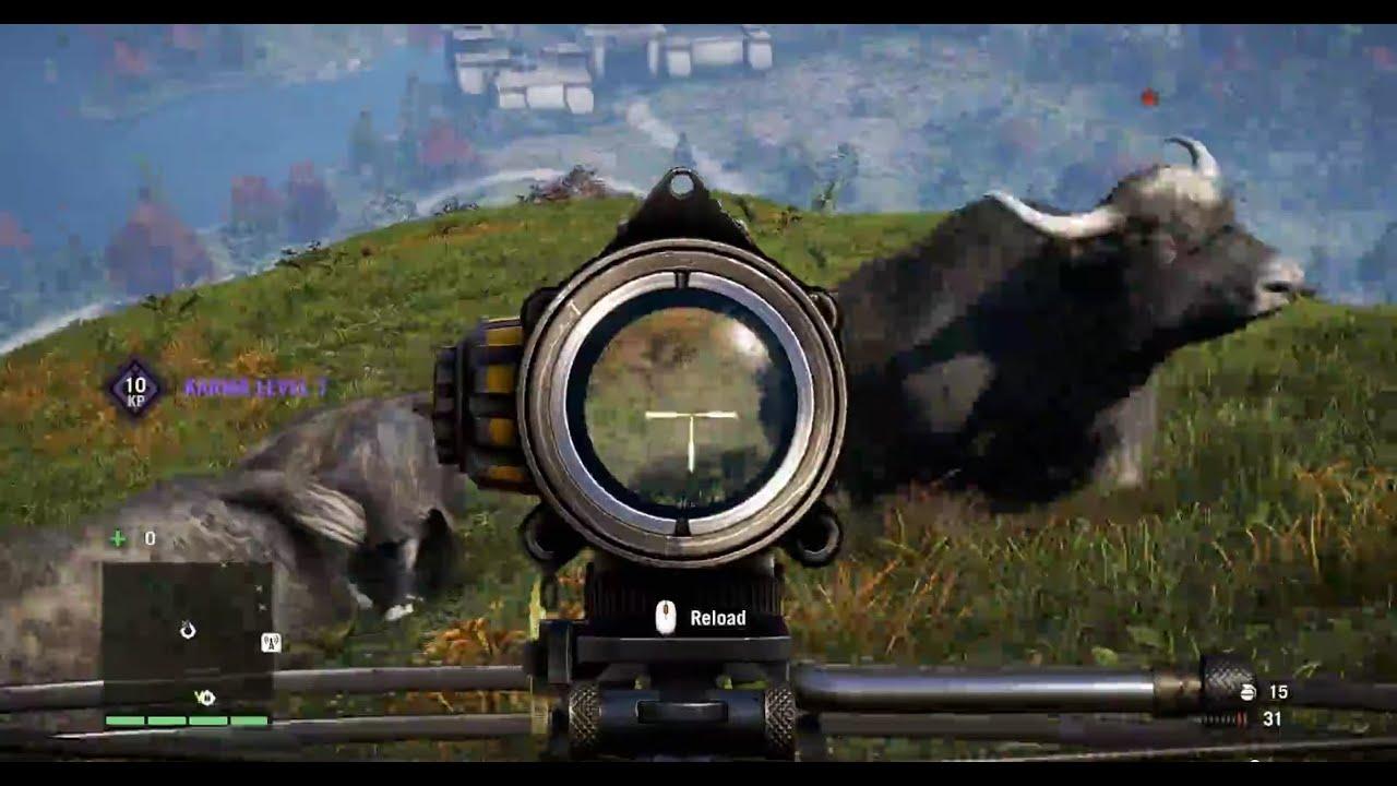 Far Cry 4 Easy Yak Hunting Youtube