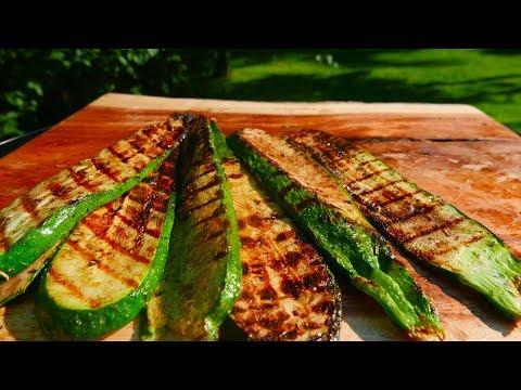 Grilled Zucchini Recipe - Easy and Delicioius