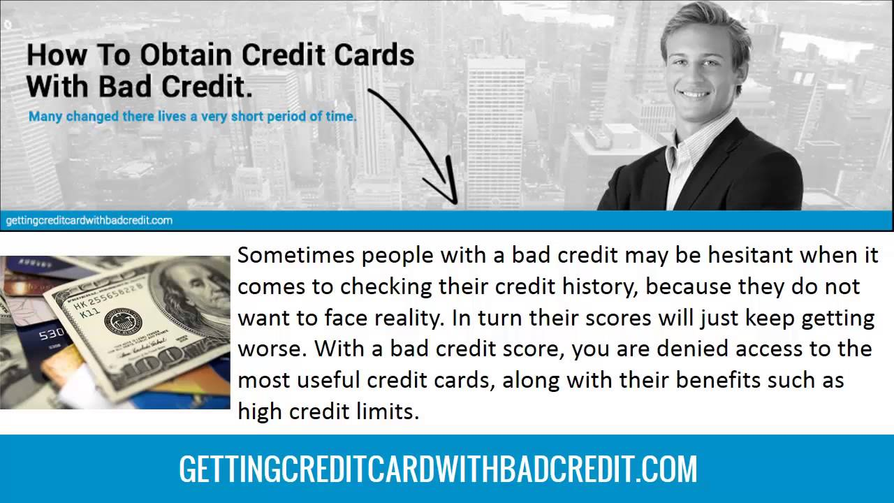 Does a co-signer help in getting a credit card for bad credit