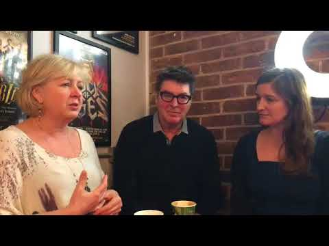 West End legends Claire Moore and Robert Meadmore visit The Theatre Cafe