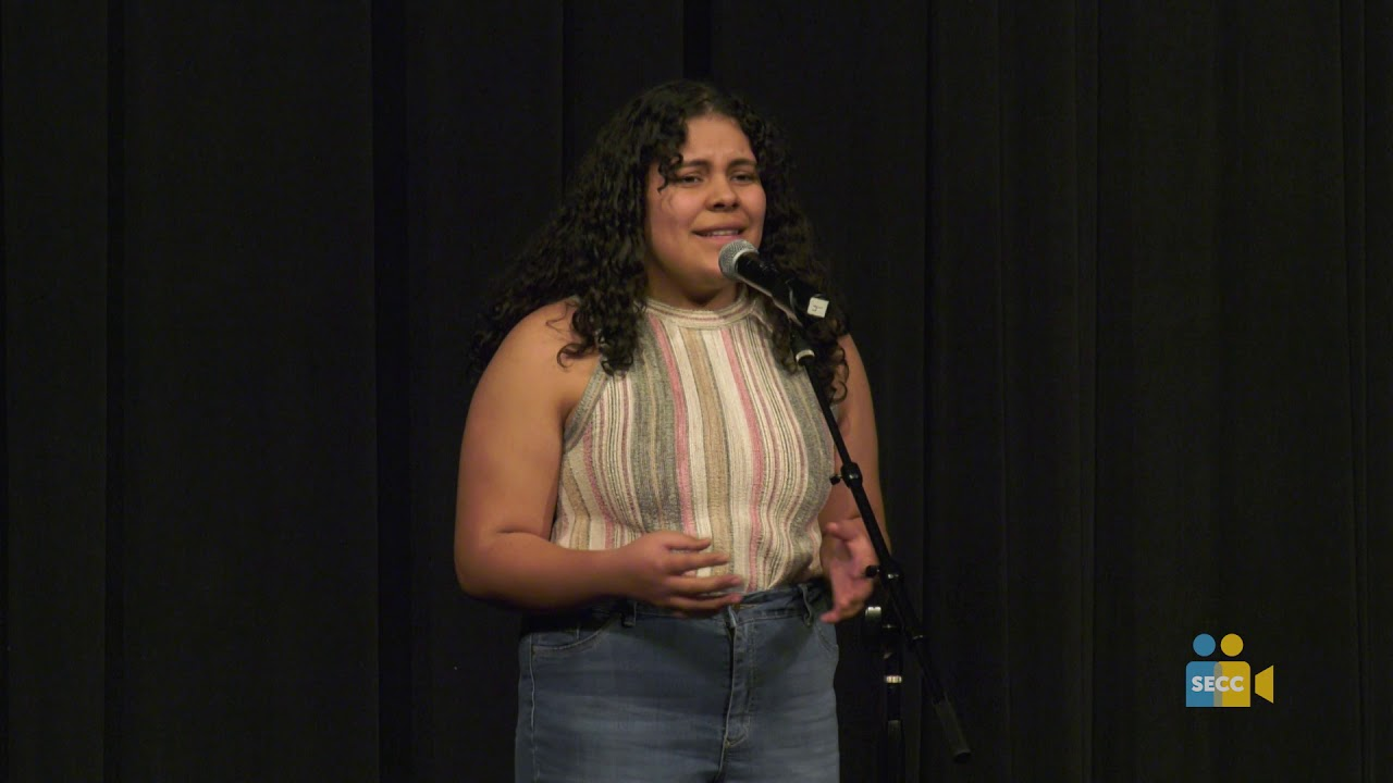 SCOE: Poetry Out Loud 2019 – Alicia Hernandez (Round 2)