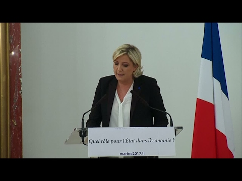 """French Far-right leader Marine Le Pen: """"Everywhere, economic patriotism is winning"""""""