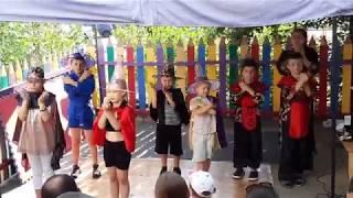 Скачать Ритмические танцы в Летнем лагере БАЛУ на Троещине