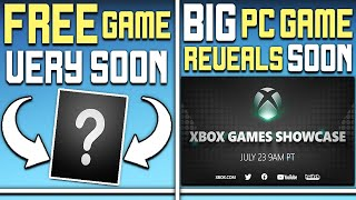 Get an Awesome PC Game For FREE Very Soon + Big PC Game Reveals Soon
