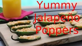 Great Vegan Recipes(1): The Jalapeño Poppers And The Vegan Ranch Dip