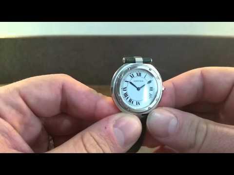 c1983 Cartier Santos Vendome men's vintage watch