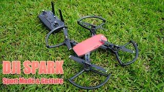 DJI Spark Field Test - Sport Mode & Gestures