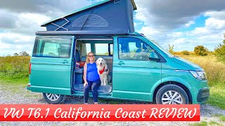 FULL REVIEW VW T6.1 California Coast Camper Van - We Spent A Week With It!