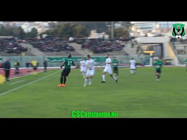CS Constantine 1 - 0 MO Béjaia : Le but du CSC d'un autre angle