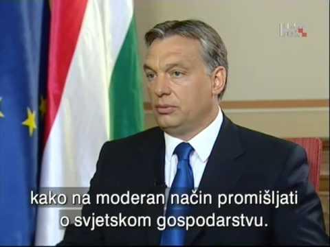HRT  Dnevnik plus Viktor Orban 06.2013.