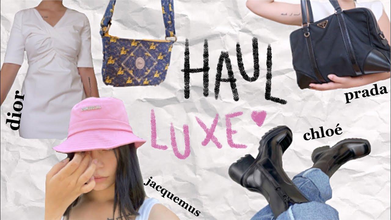 TRY-ON HAUL LUXE: Dior, Prada, Chloé...