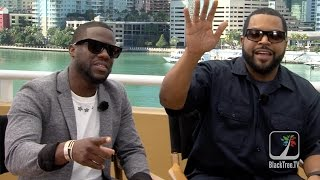 Kevin Hart & Ice Cube On Ride Along 2 and Their Career Similarities