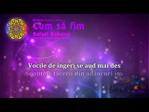 "Rafael Bobeica - ""Cum să fim"" (Moldova) - [Karaoke version]"