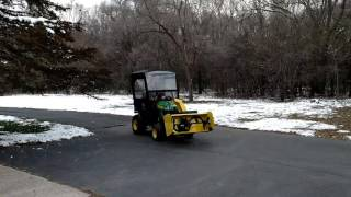 New John Deere X739 Arrives
