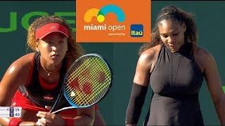 Williams vs Osaka Full Highlights / Miami Open 2018 / Round of 128