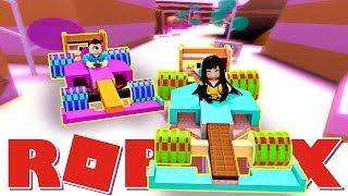 The Day I was SAVAGE in SUGAR RUSH!! - Roblox Disney Wreck-it Ralph Sugar Rush with MicroGuardian