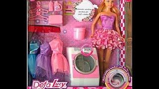 Кукла Lucy со стиральной машиной и аксессуарами обзор