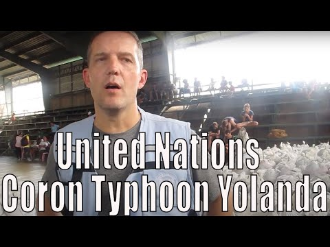 United Nations on the state of Coron from Typhoon Yolanda