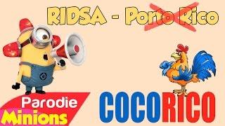 (Parodie Minions) Cocorico 🐔 (de ridsa - porto rico)