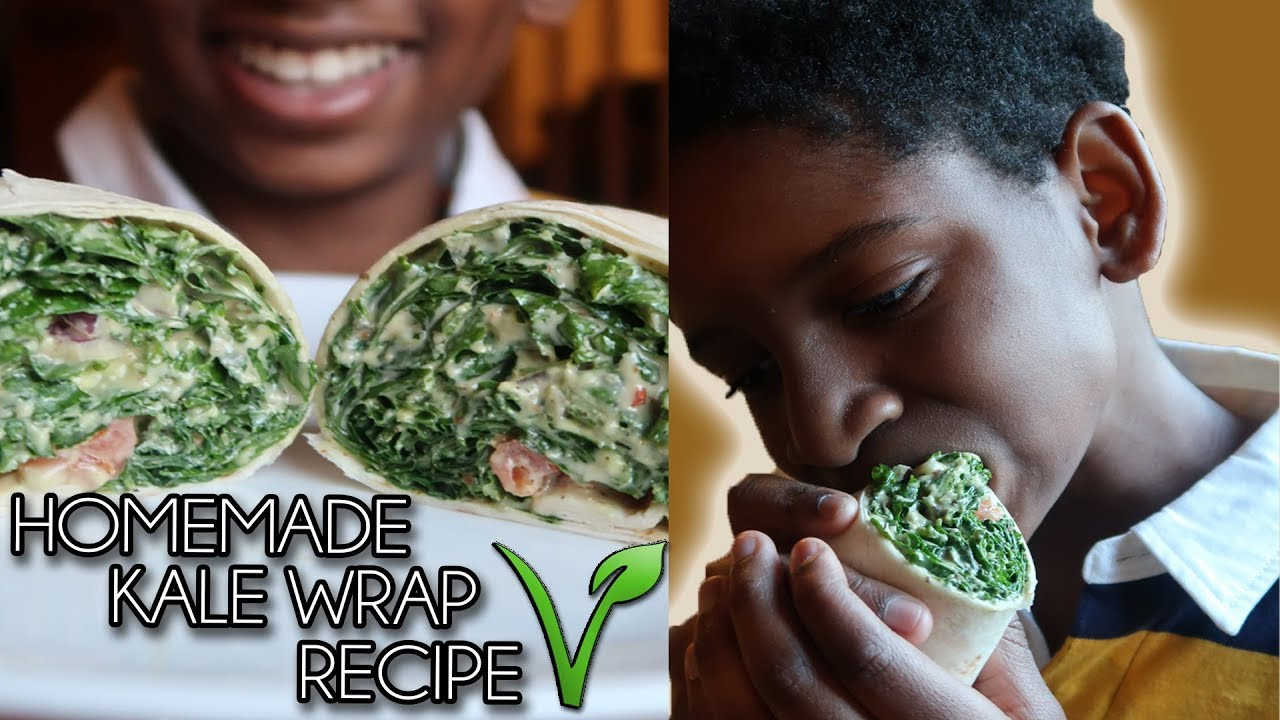 WHY MY 12 YEAR OLD KID WENT VEGAN + HIS FAVE KALE WRAP RECIPE | VEGANUARY 🌱