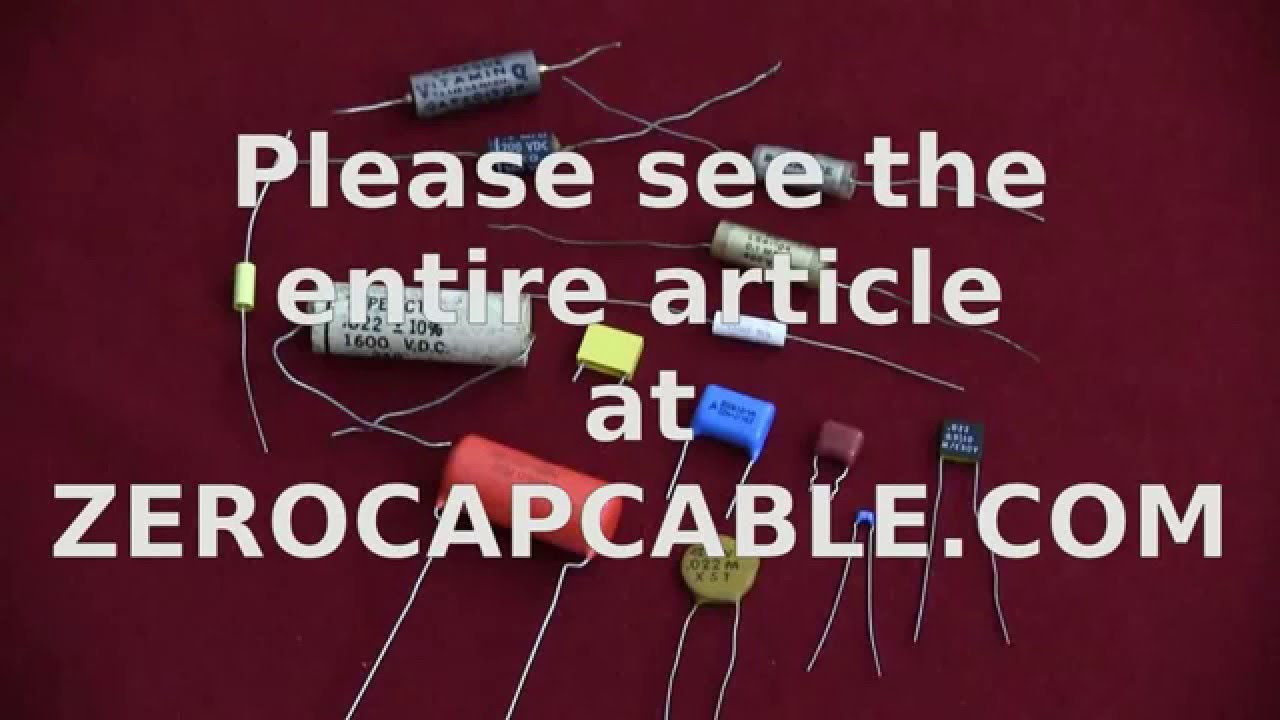 To Find The Value Of These Capacitors We Need A Capacitance Meter