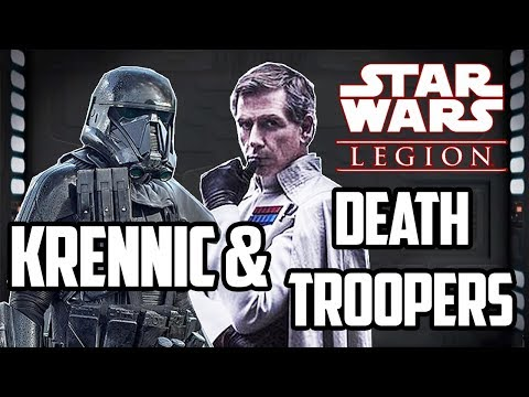 Star Wars Legion - DEATH TROOPERS & Krennic - Confirmed (Basically)