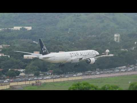 Air India Boeing 777 Star Alliance Livery lands in Chennai Airport