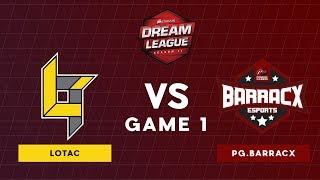 Lotac VS WG.Unity | Bo3 l Lower Bracket Round 2 DreamLeague Season 11 SEA Qualifiers | Game 1