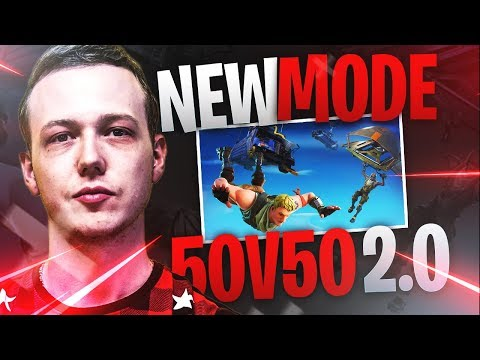 LE NOUVEAU MODE 50 VS 50 2.0 !! - GAMEPLAY FORTNITE BATTLE ROYALE