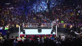 The Undertaker, Kane and Daniel Bryan fend off The Shield: Raw, April 8, 2013