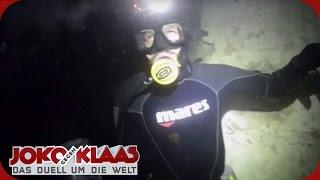 Ungarn: Klaas als Höhlentaucher | Joko gegen Klaas - Das Duell um die Welt | ProSieben