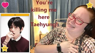 Gambar cover *THIS IS SO ADORABLE* BTS V 'Inner Child' Lyrics Reaction