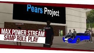SAMP Pears Project Role Play Стрим