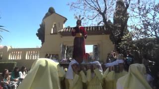 Procesión Colegio Gamarra 2015 [Cristo en arco de primaria]